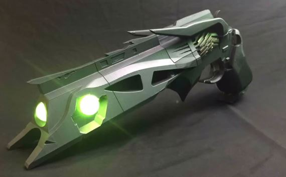 3D printed Destiny Hand Cannon fully functional airsoft pistol – Surplus Store