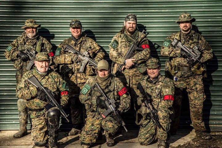 CSS Metal Ops team in full airsoft gear - Surplus Store