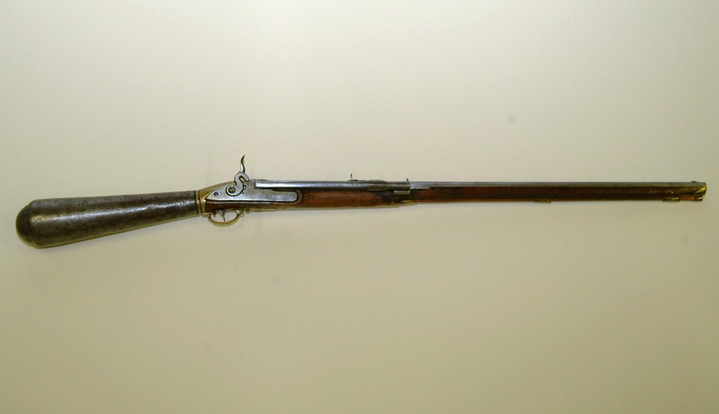 The Girandoni air rifle, predecessor to air rifles found at Surplus Store Crawley