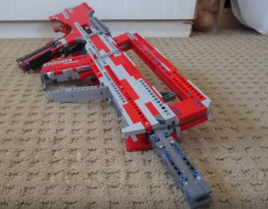 Lego FAMAS as created by Joes LegoGuns – Surplus Store BB guns online