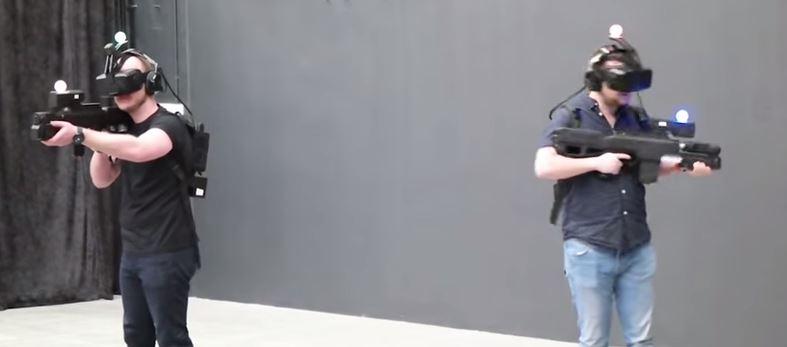Zero Latency shows future of gaming, using handsets similar to airsoft rifles UK