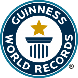Guinness World Records logo, with few records containing air rifles UK – Surplus Store Crawley
