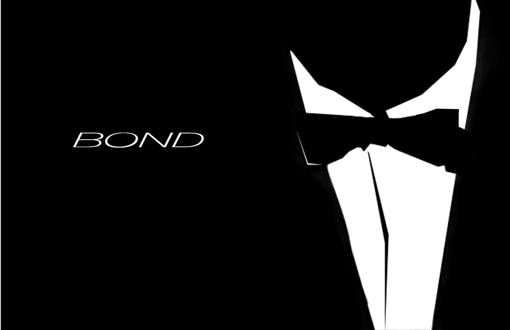 James Bond minimalist poster featuring airsoft guns for sale UK