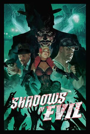 Shadows of Evil release poster, featuring guns similar to those in our airsoft shop
