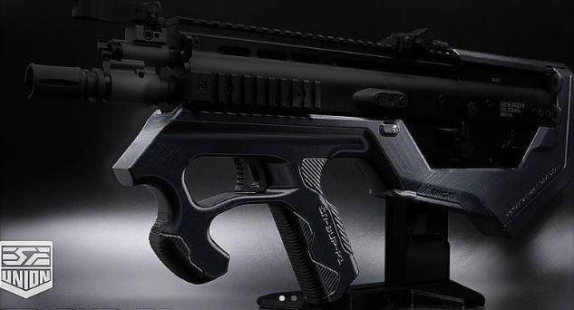 SRU SCAR-L bullpup kit for airsoft guns