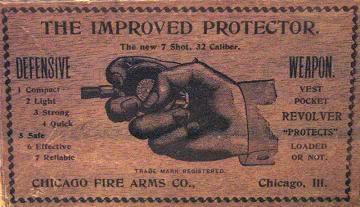 Palm Protector Pistol