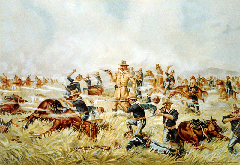 Custer at the Battle of Little Big Horn