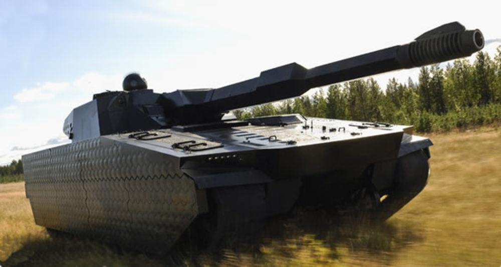 BAE tank