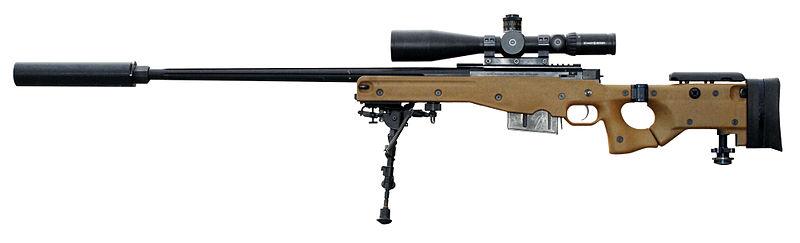 Accuracy International sniper rifle