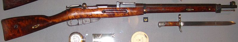 Finnish Mosin-Nagant M28/30 rifle as used in the Winter War