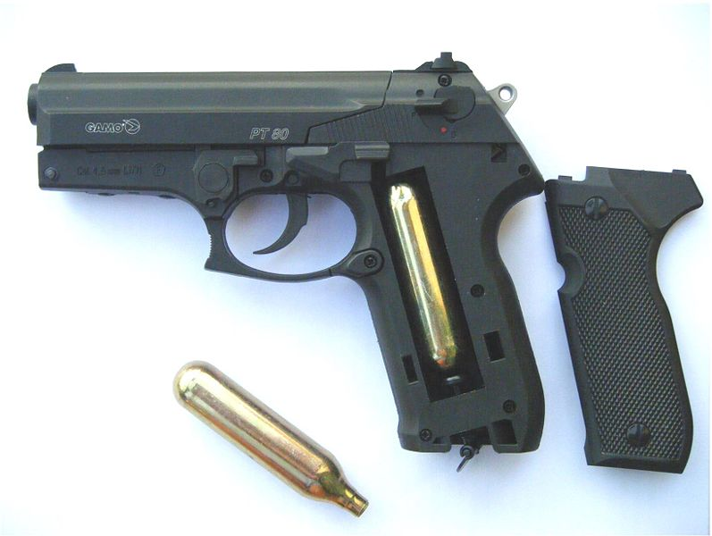 Co2 air gun
