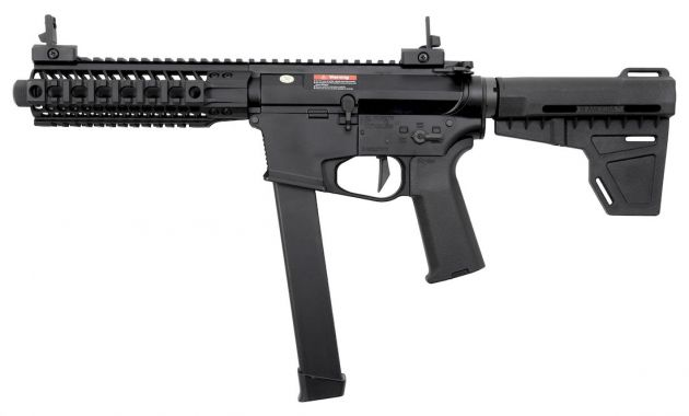 Ares M45 S-Class Black Long 6mm Assault Rifle RIF