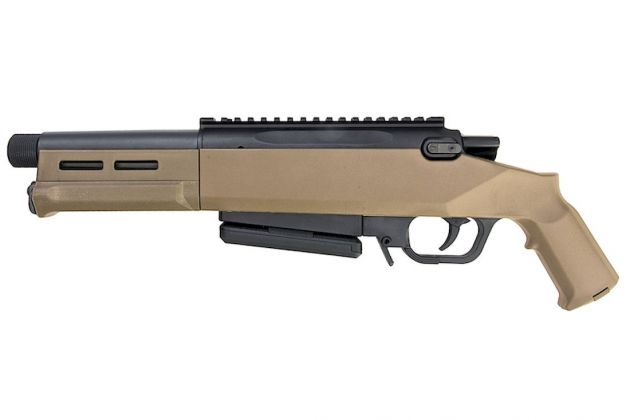 Ares Amoeba Striker AS03 Tan Bolt Action 6mm Airsoft Sniper Rifle RIF
