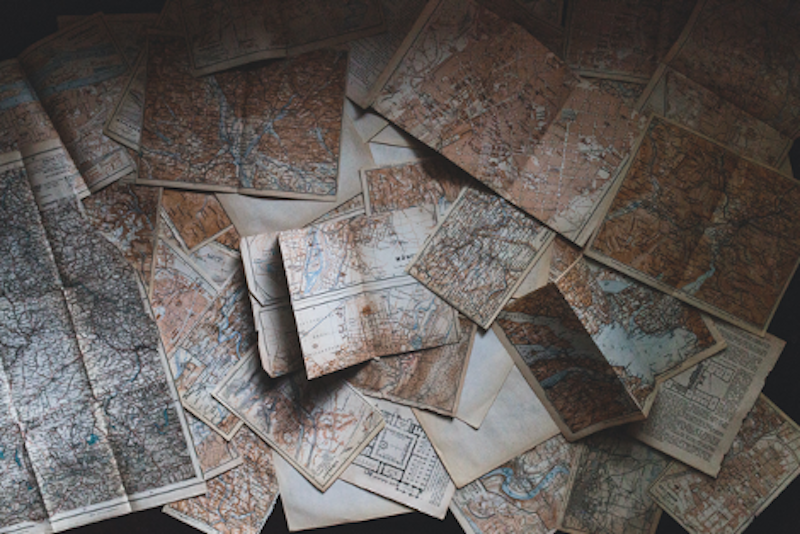 A collection of old maps