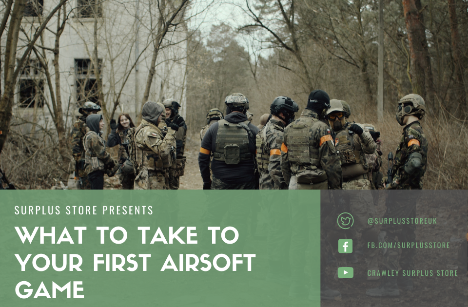 What to take to your first airsoft game