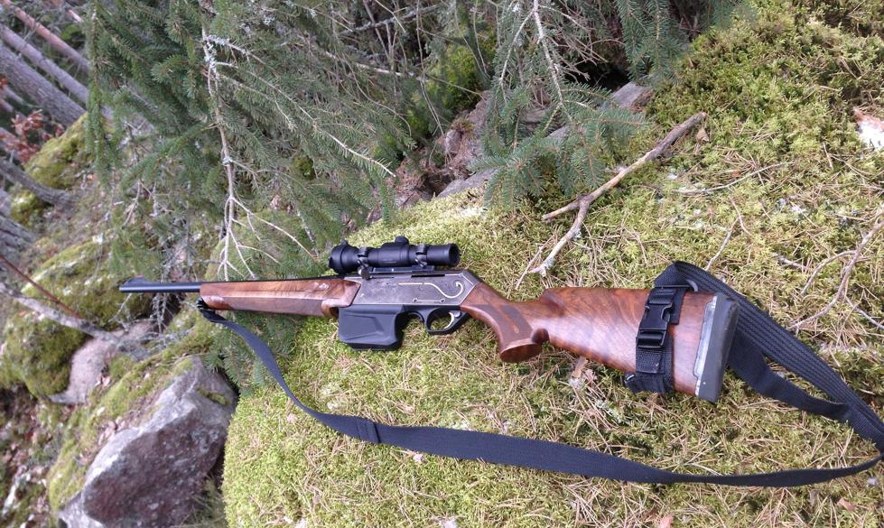 Gun on the shooting range