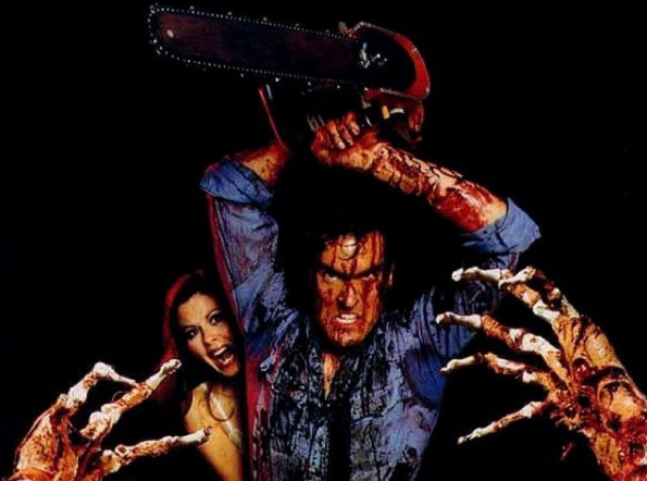 Use a chainsaw as a zombie killing weapon