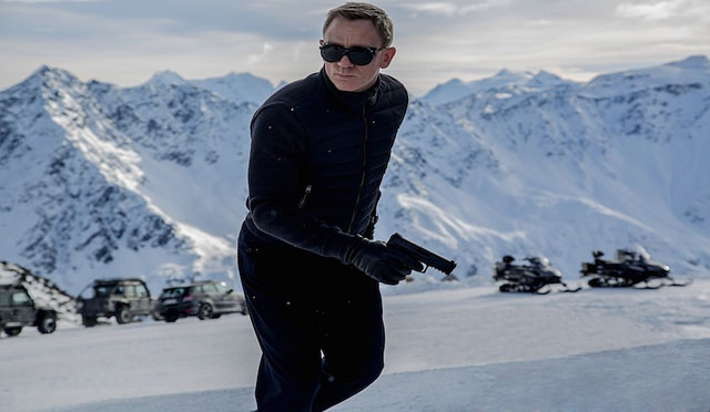 James Bond, a British spy