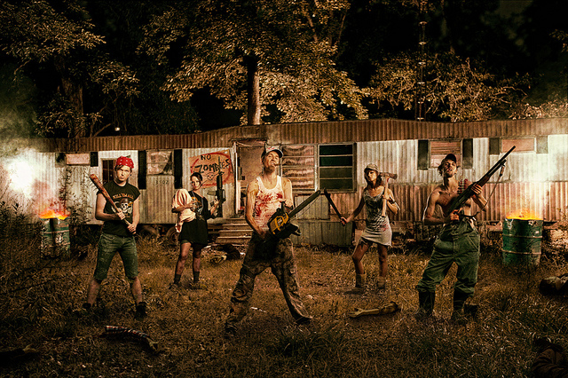 Which weapon would you choose in a zombie apocalypse