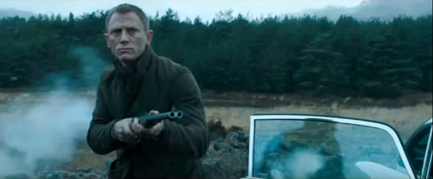 Anderson Wheeler rifle in Skyfall