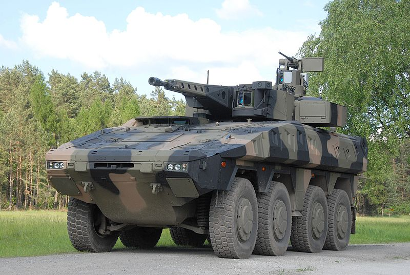 A version of the Boxer MIV