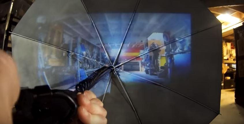 Real life umbrella gun from Kingsman