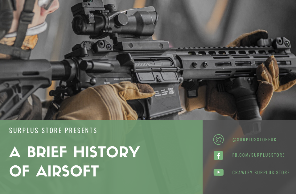 A Brief history of airsoft