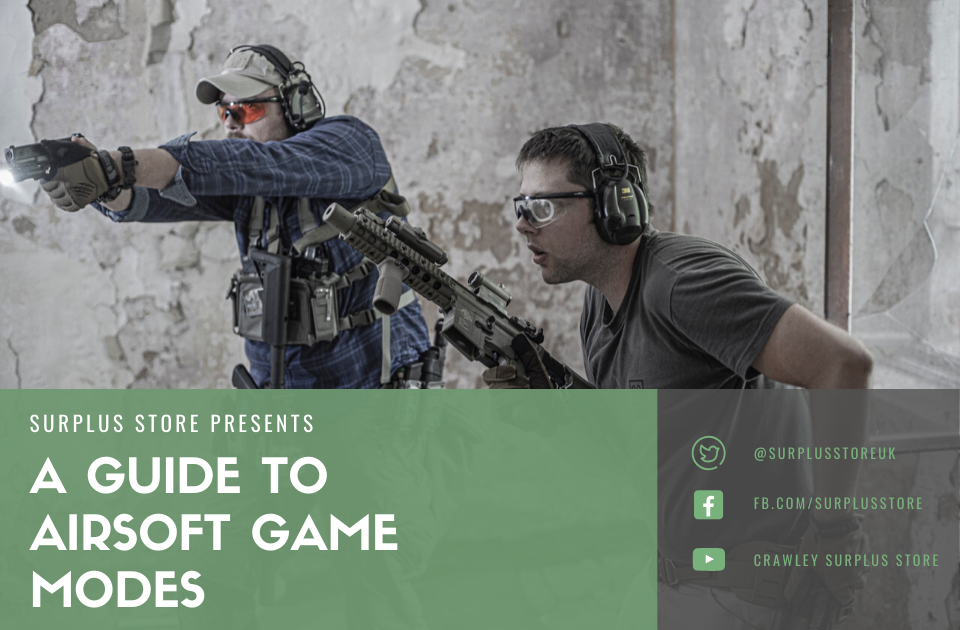 Guide to Airsoft Game Types