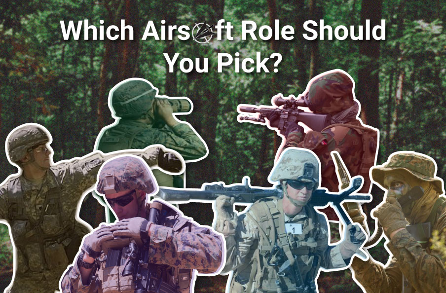graphic of airsoft roles.