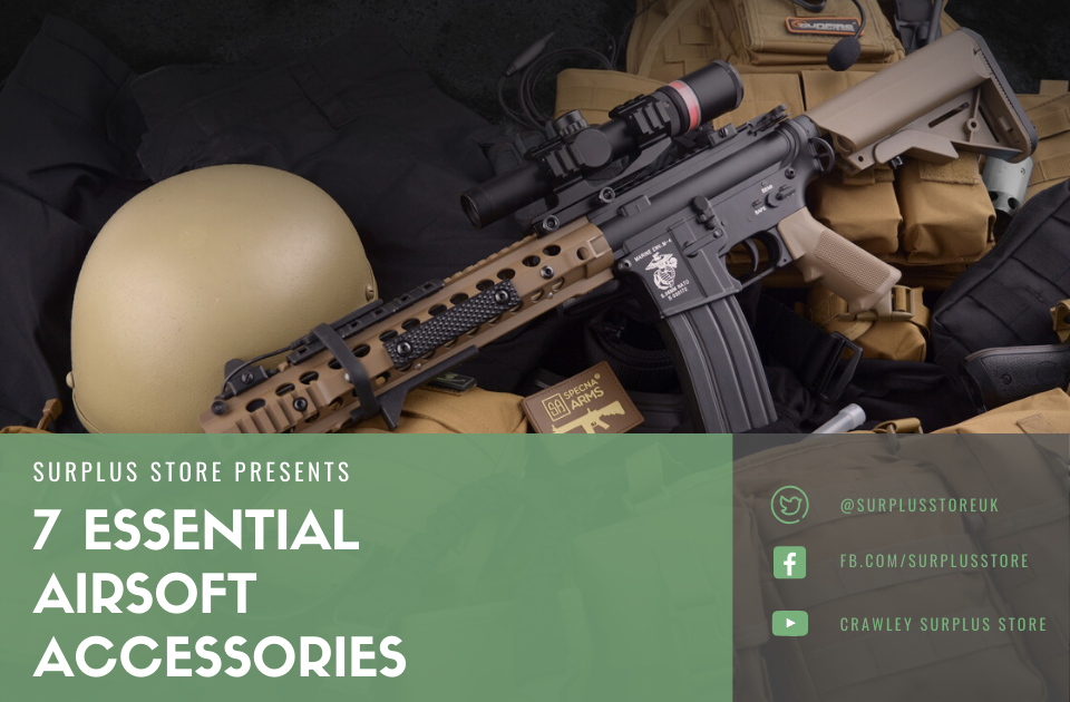 Essential airsoft accessories