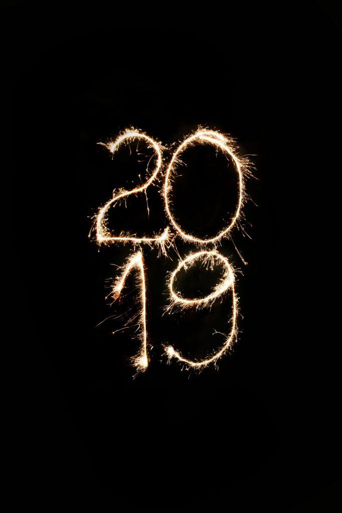 2019 in sparklers.