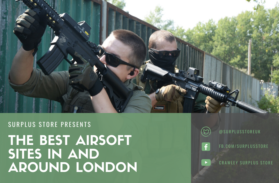 Best airsoft sites in and around London
