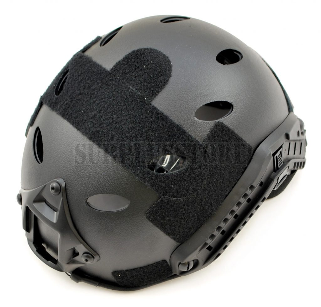 A helmet for airsoft