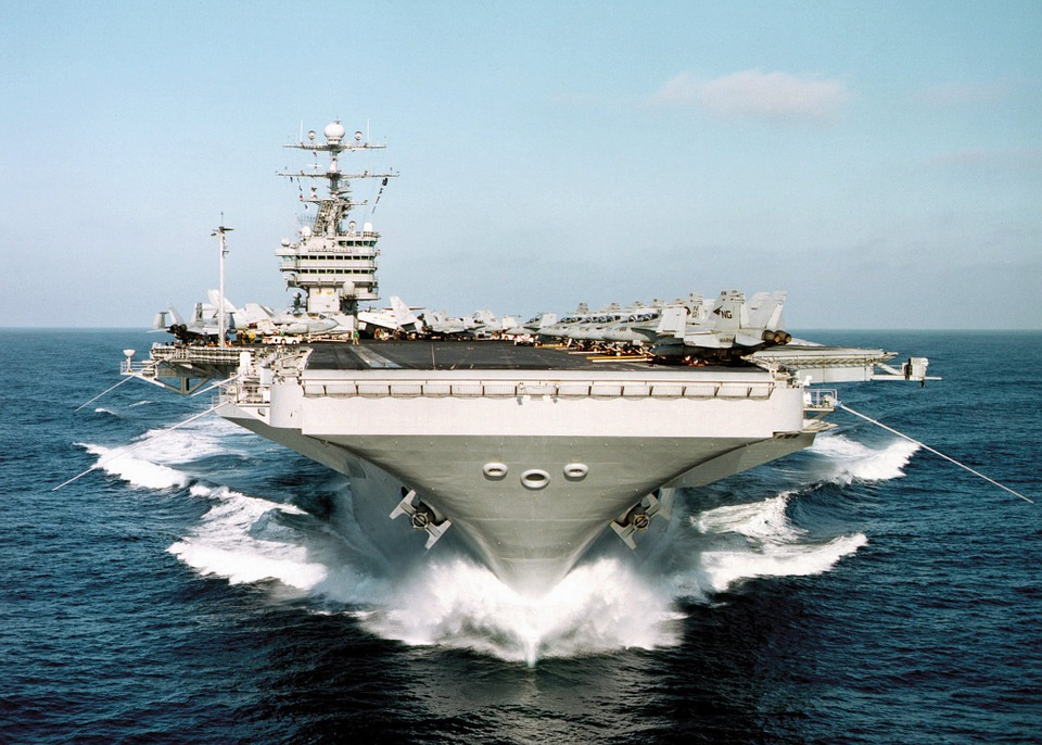 Aircraft carrier in US Navy