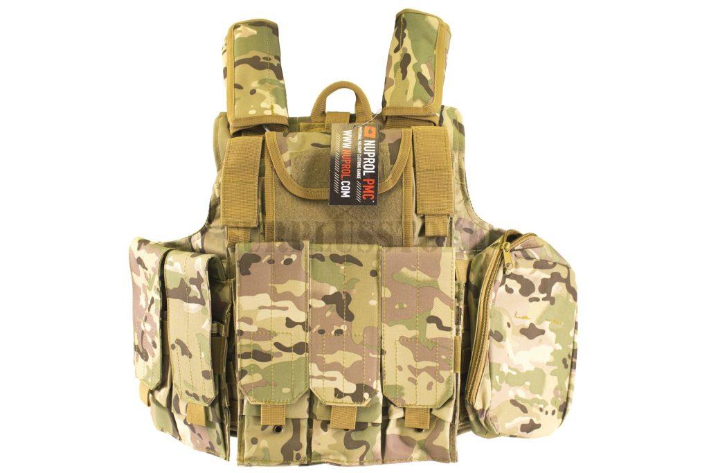 An assault vest from Surplus Store