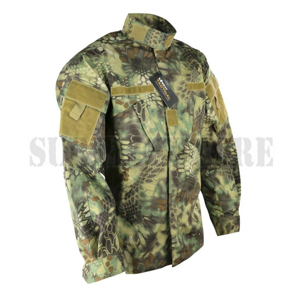 A BDU style jacket from Surplus Store