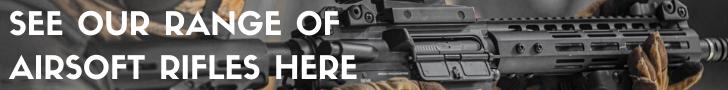 Surplus Store Airsoft Rifle Banner