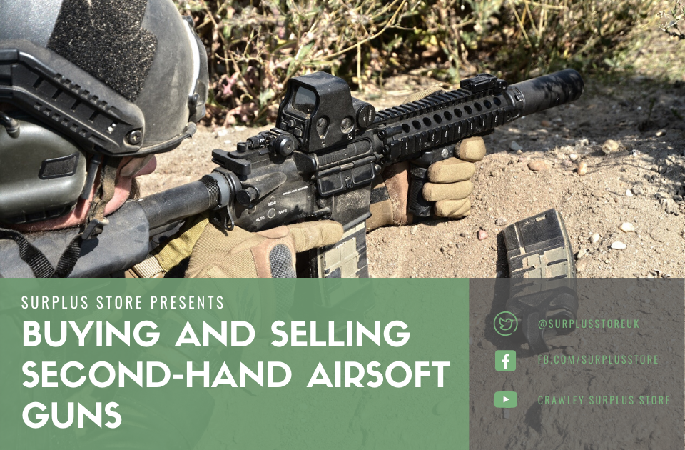 Second hand airsoft banner